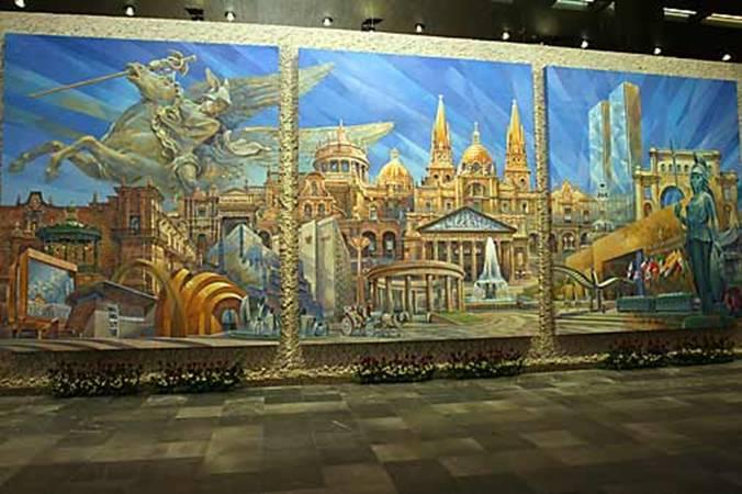 Museo cjv for El mural guadalajara